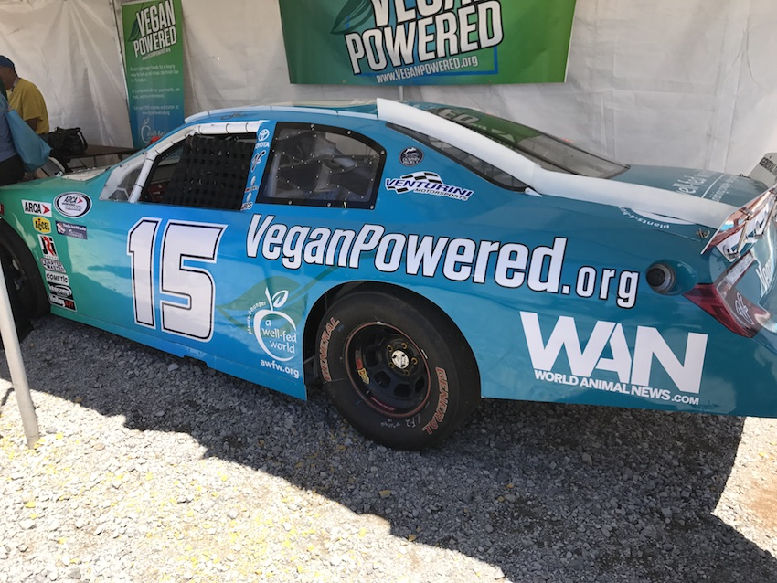 Vegan Powered Race Car